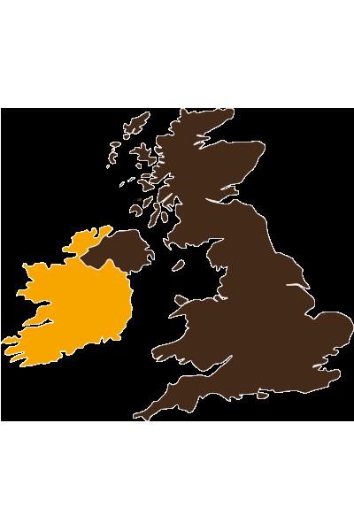 Karte - Irland