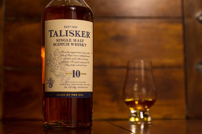Flasche: Talisker 10