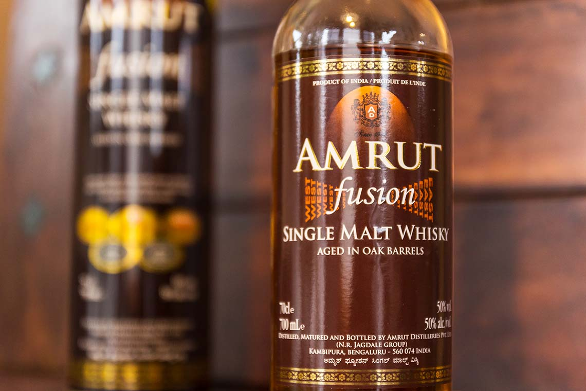Indischer Whisky - Amrut Fusion