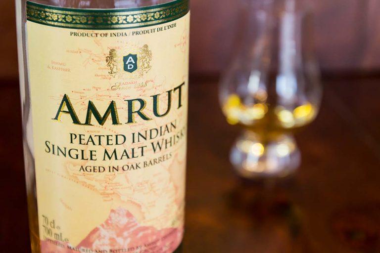 Flasche: Amrut Peated