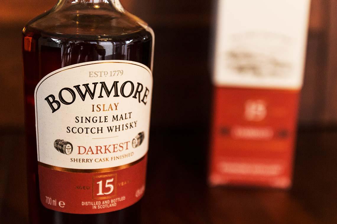 Flasche: Bowmore - Darkest