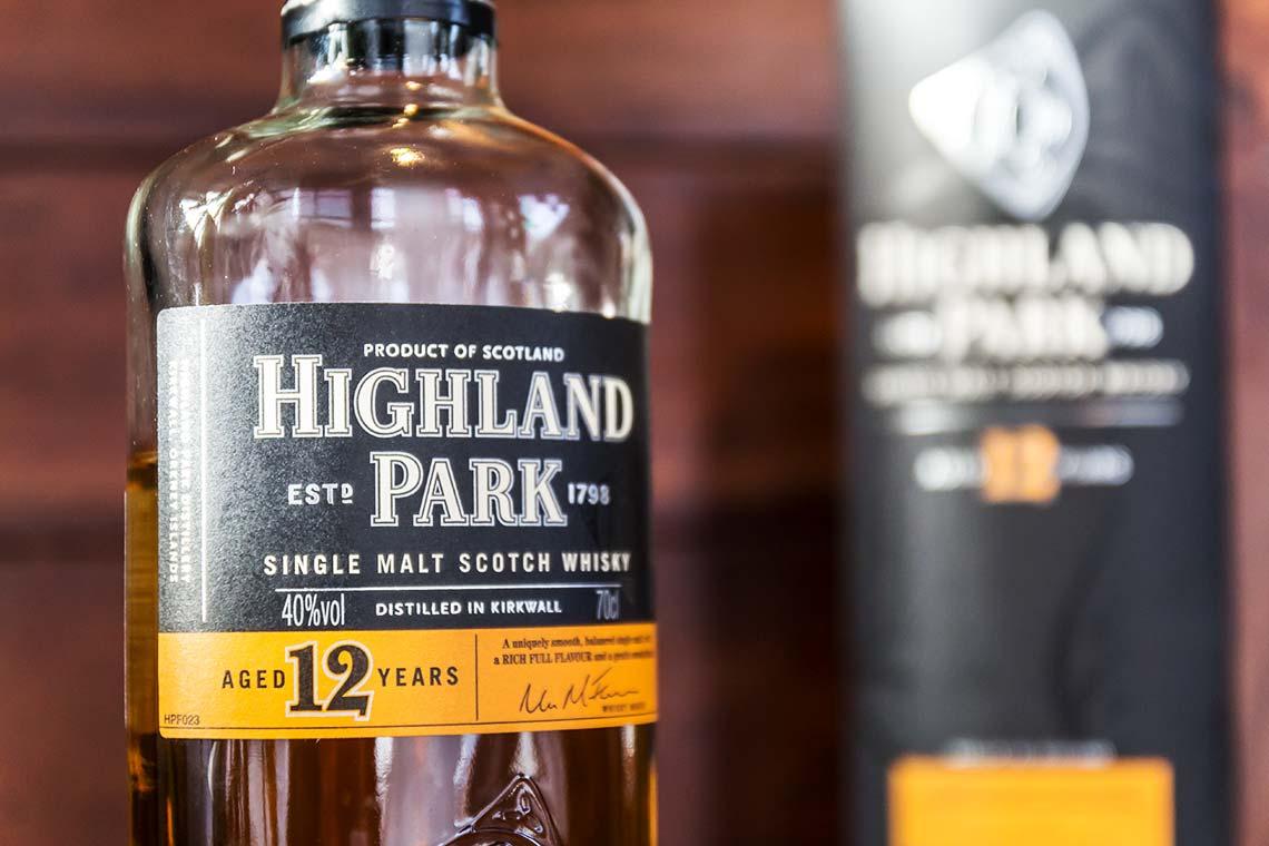 Flasche: Highland Park 10