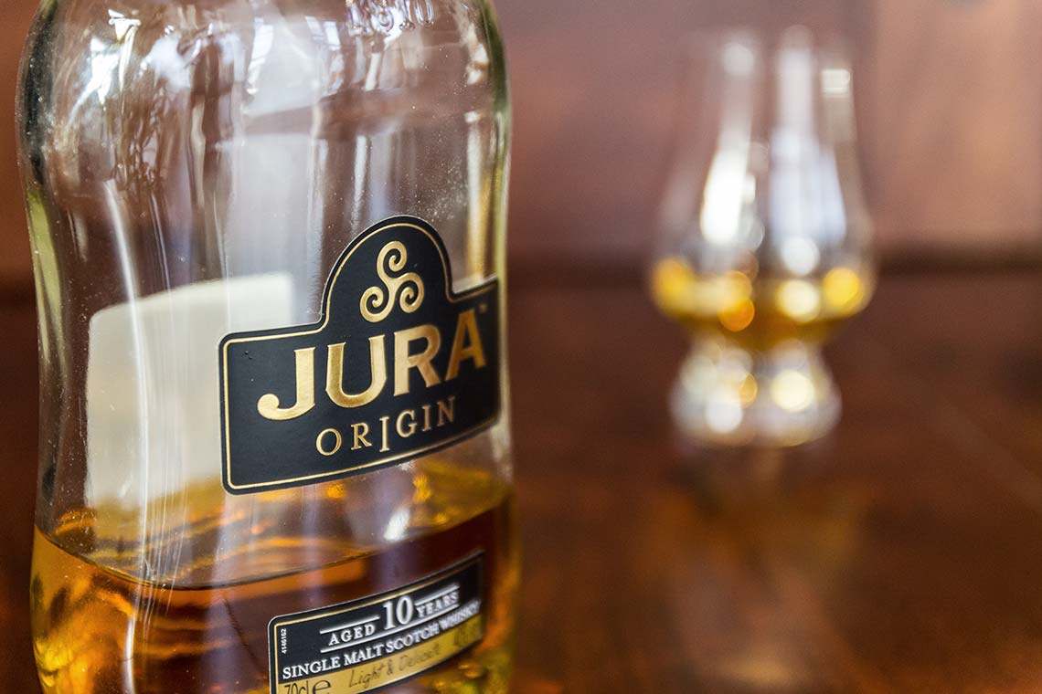 Scotch Whisky: Jura Origin 10 Jahre