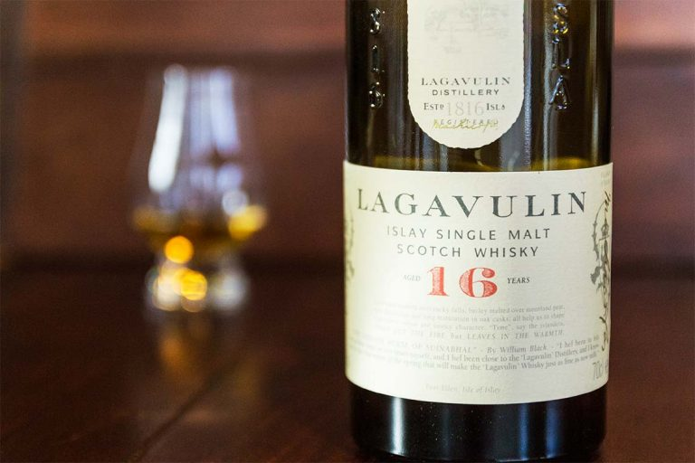 Flasche: Lagavulin 16