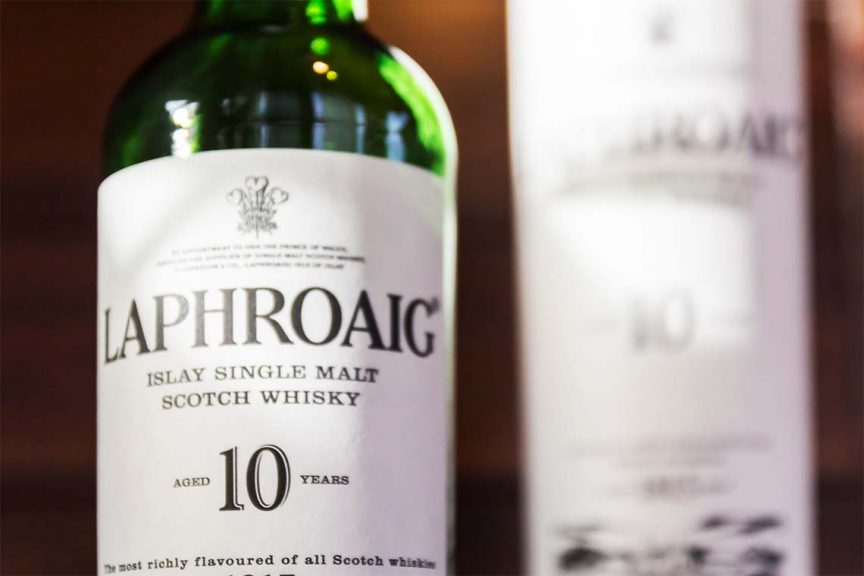 Flasche: Laphroaig 10