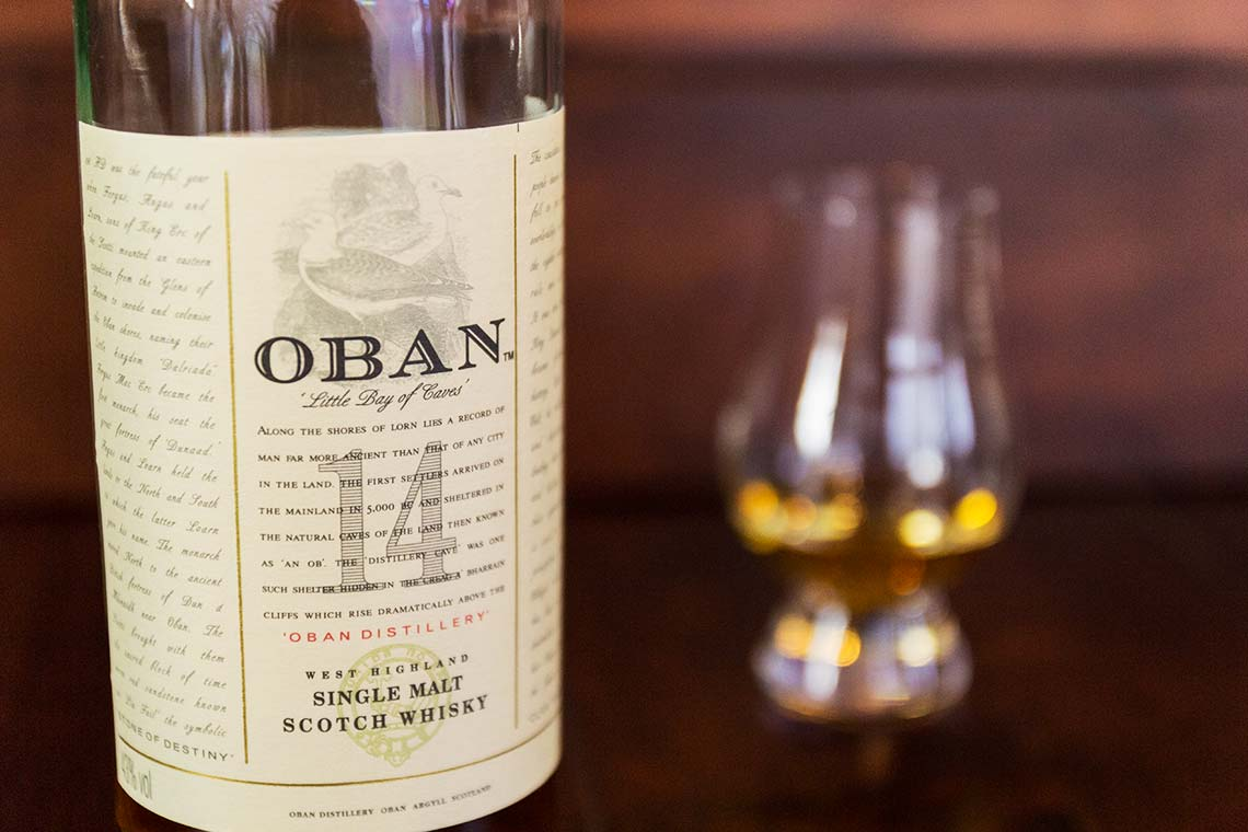 Scotch Whisky: Oban 14 Jahre