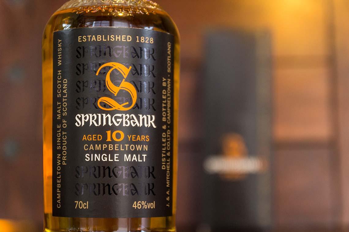 Flasche: Springbank TEN