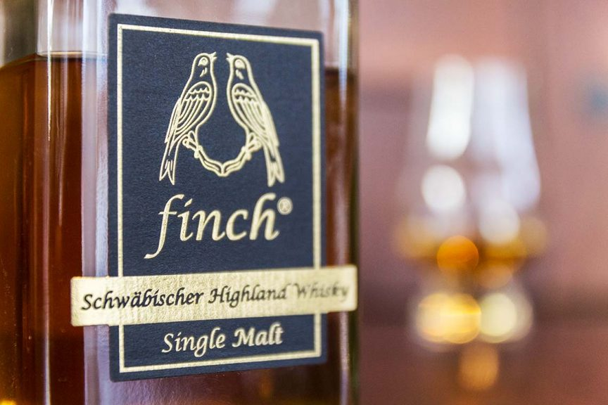 Deutscher Whisky - Finch Schwäbischer Highland Single Malt Whisky