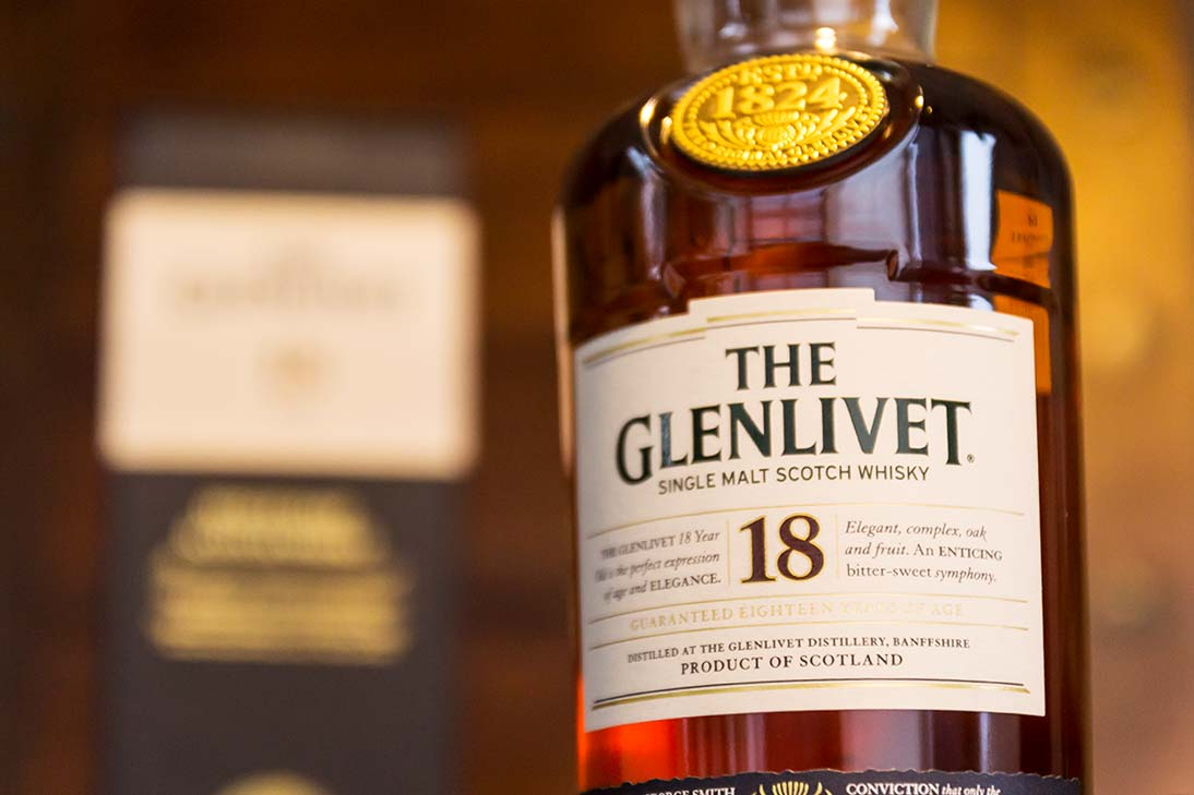 Scotch Whisky - The Glenlivet 18 Jahre