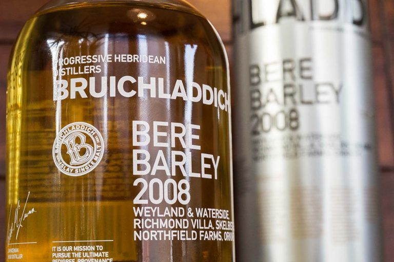 Scotch Whisky - Bruichladdich Bere Barley 2008
