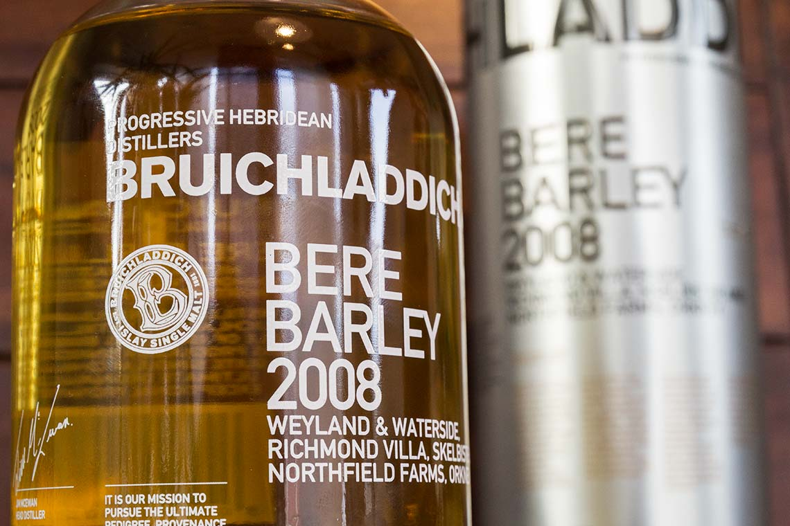 Scotch Whisky - Bruichladdich Bere Barley 2008
