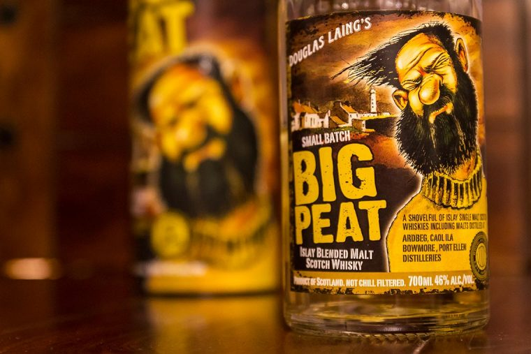 Blended Scotch Whisky - Douglas Laing´s Big Peat
