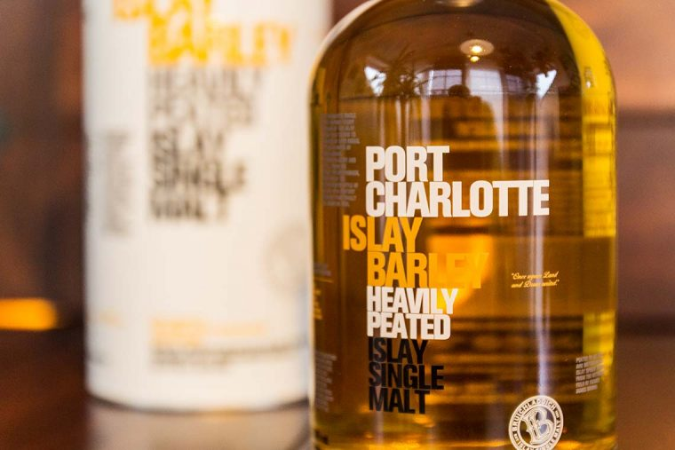 Islay Single Malt Scotch Whisky - Bruichladdich Islay Barley Heavily Peated