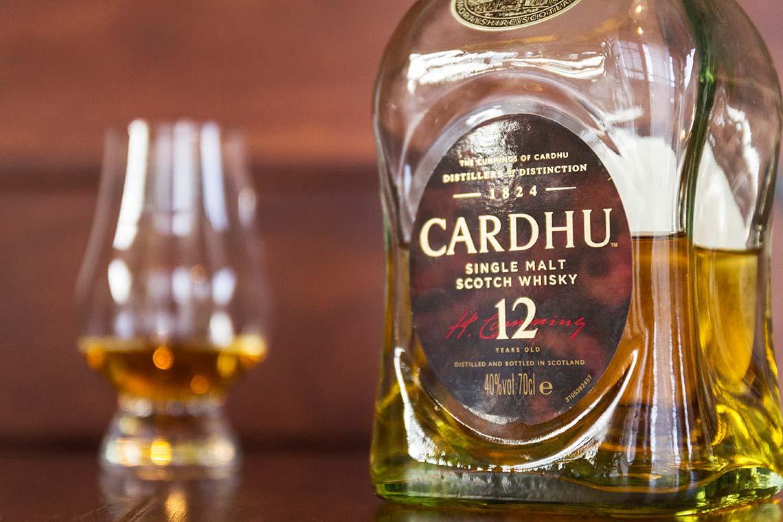 Single Malt Scotch Whisky - Cardhu 12 Jahre