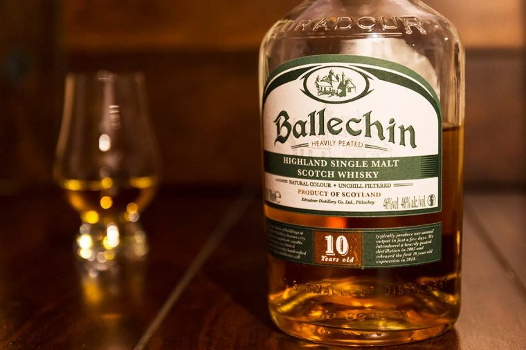 Single Malt Scotch Whisky - Edradour Ballechin 10 Jahre