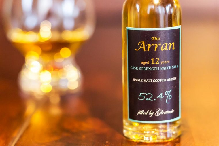 Arran 12 Cask Strength Batch No. 6 von Glentaste