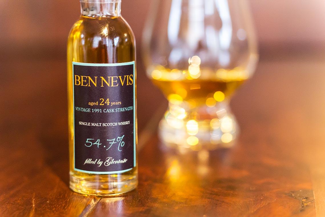 Ben Nevis 1991-2014 Signatory Cask Strength von Glentaste