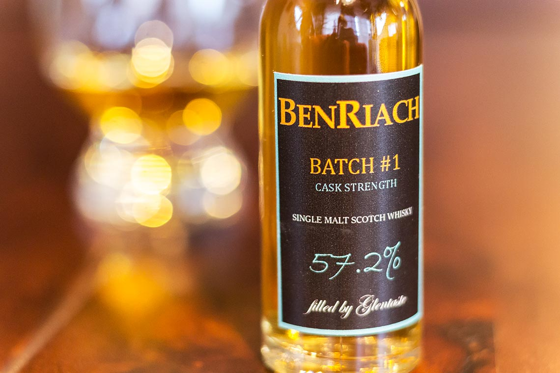 Benriach Cask Strength Batch 1 von Glentaste