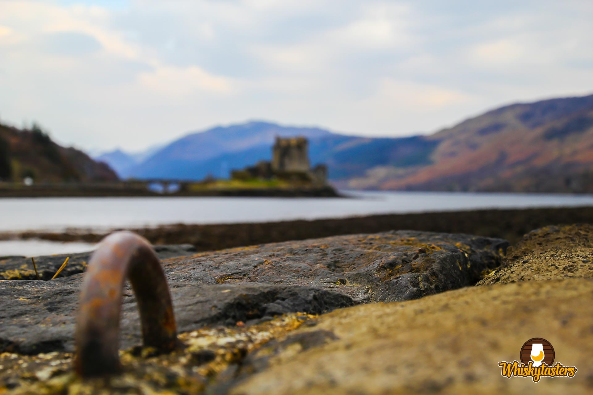 Ausblick auf das Eilean Donan Castle in Schottland