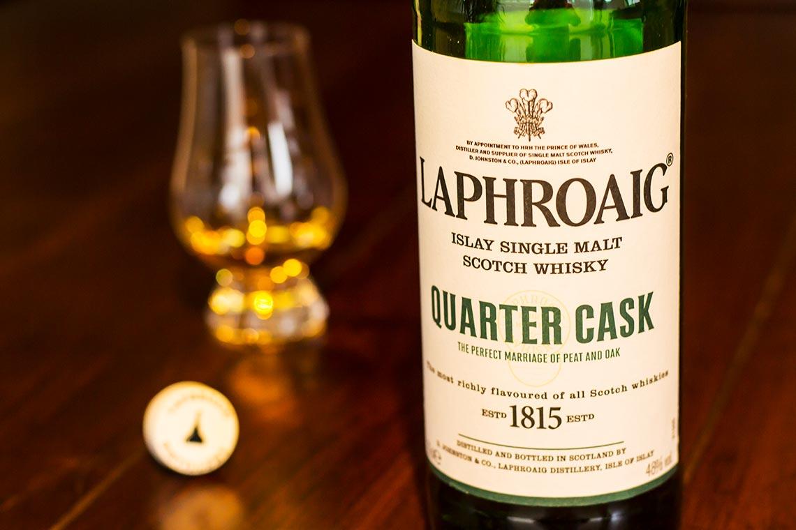 Single Malt Scotch Whisky - Laphroaig Quarter Cask