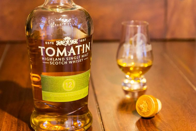 Single Malt Scotch Whisky Tomatin 12