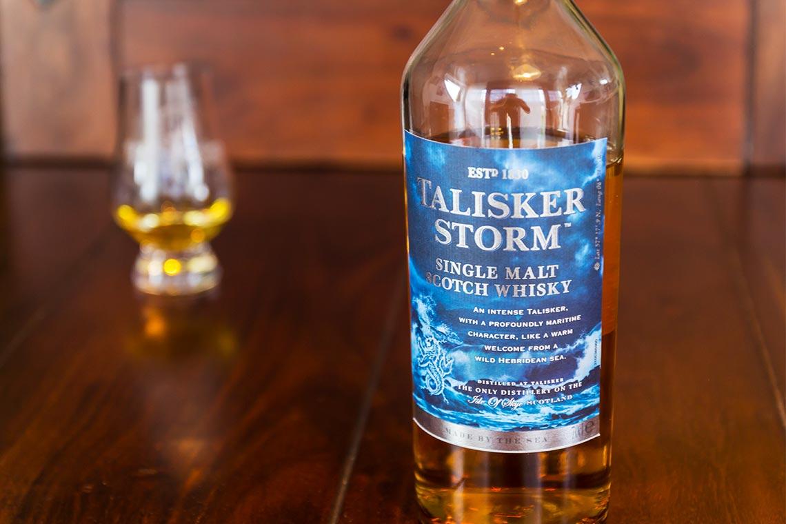Single Malt Scotch Whisky Talisker Storm