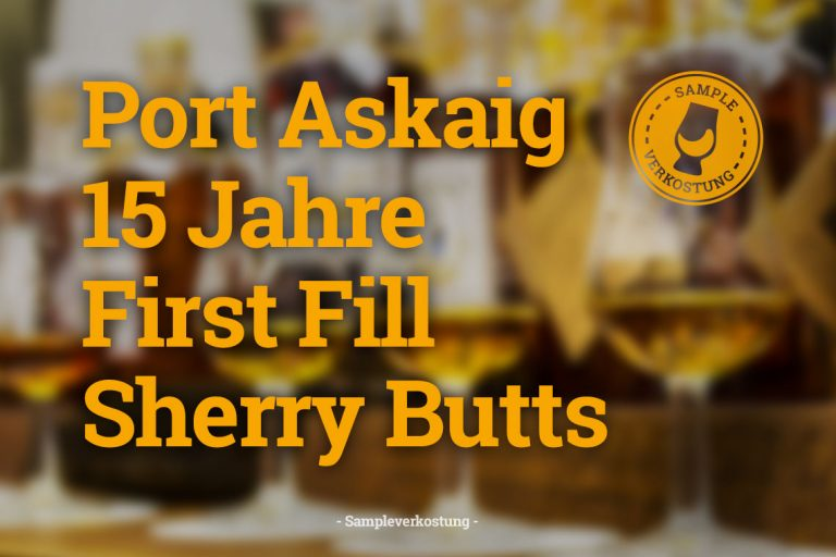 Port Askaig 15 Jahre Sherry Cask First Fill Sampleflasche Whiskytasters