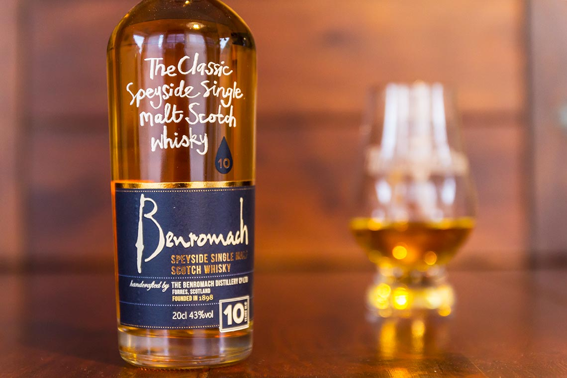 Benromach 10 Jahre Speyside Single Malt Scotch Whisky