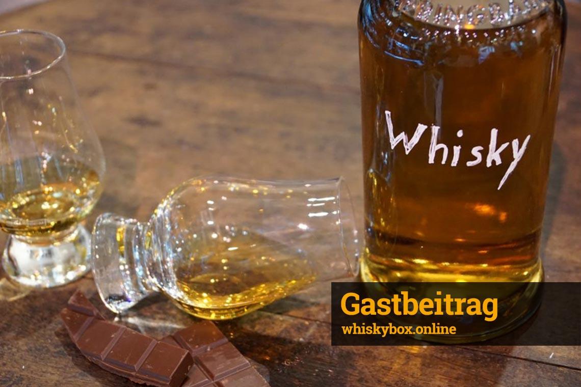Gastbeitrag - Whiskytasting: Tastingbox, Tasting zu Hause
