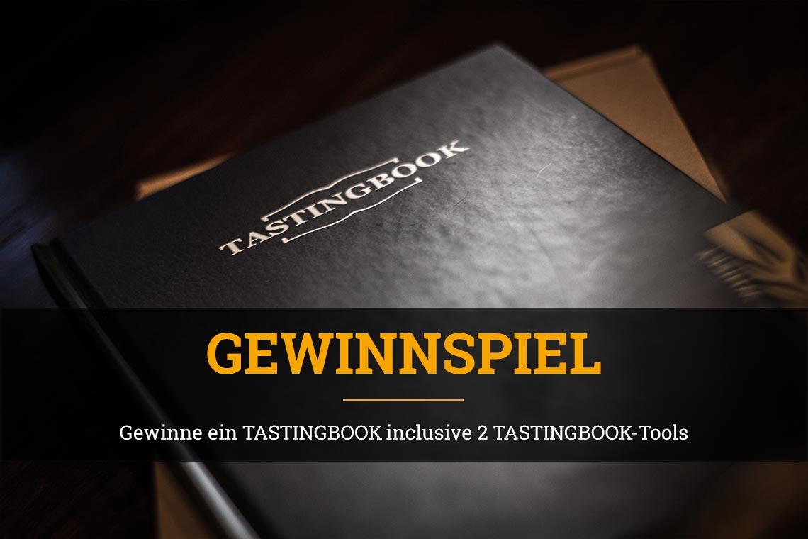 Tastingbook - Gewinnspiel Whiskytasters