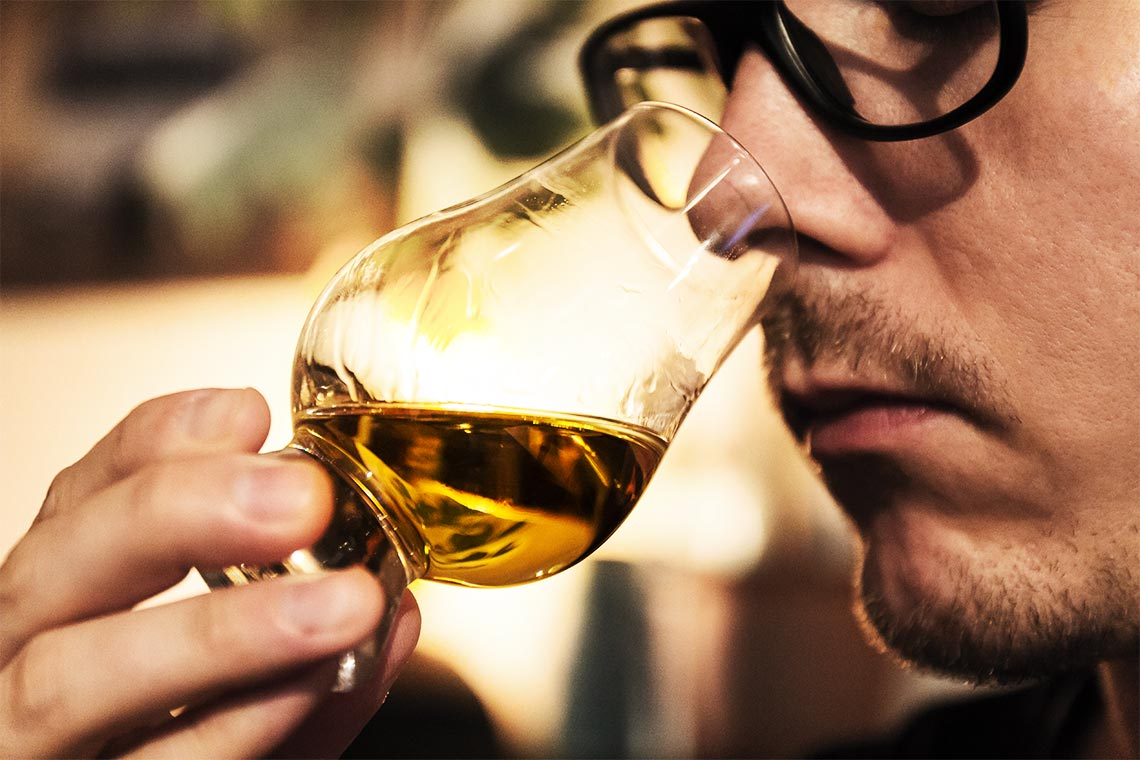 Whisky Nosing Whiskytasting Verkostung