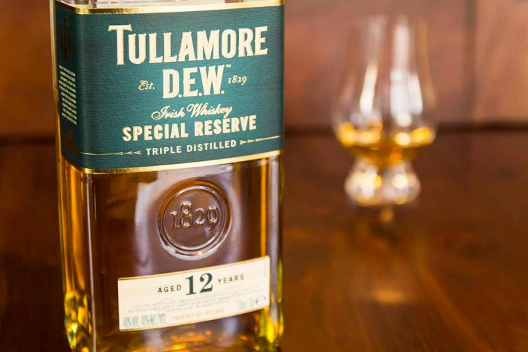 Tullamore Dew 12 Years Special Reserve Irish Whiskey