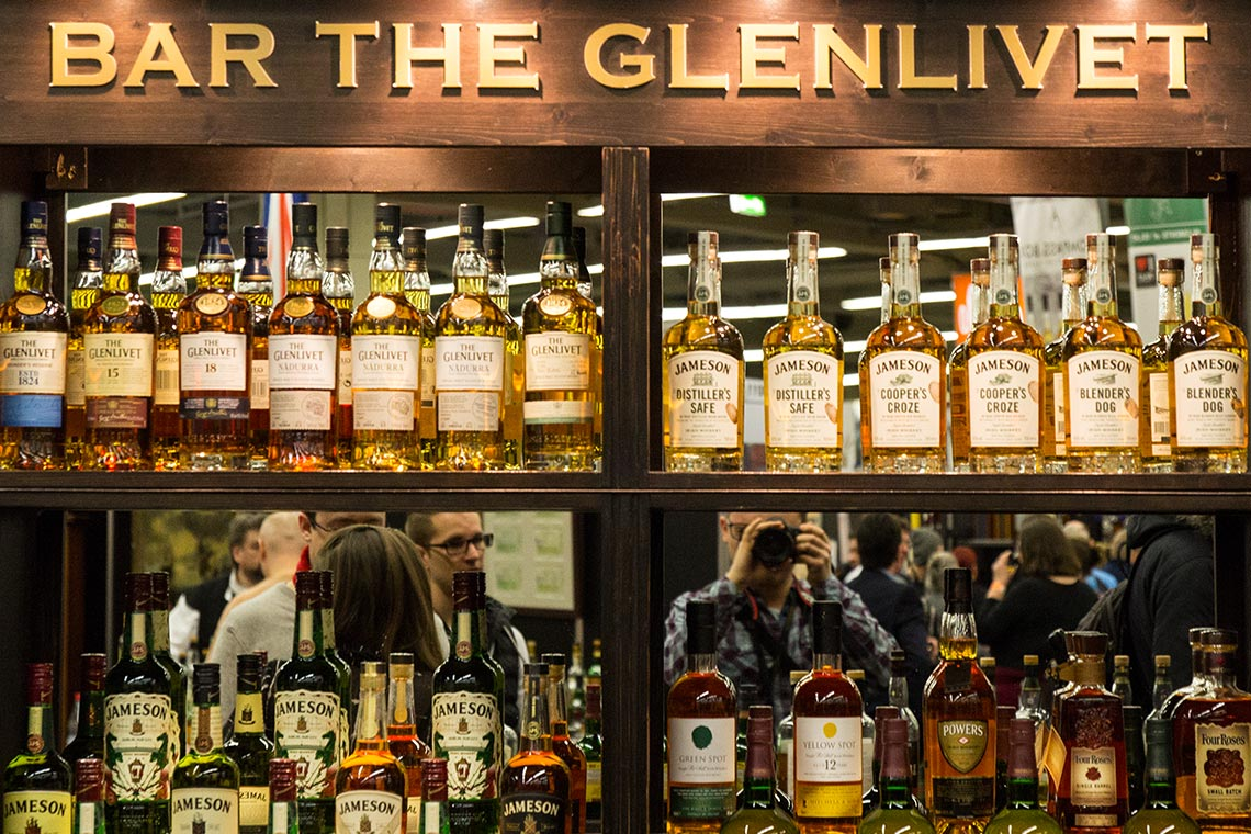 Whiskybar - Messe The Glenlivet - Jameson