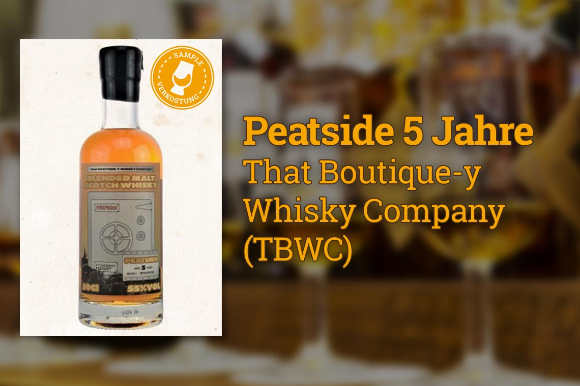 Peatside 5 Jahre - That Boutique-y Whisky Company
