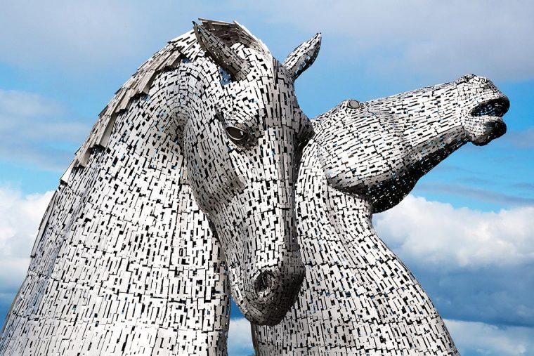 The Kelpies - Kelpie - Mythen und Legenden - Denkmal