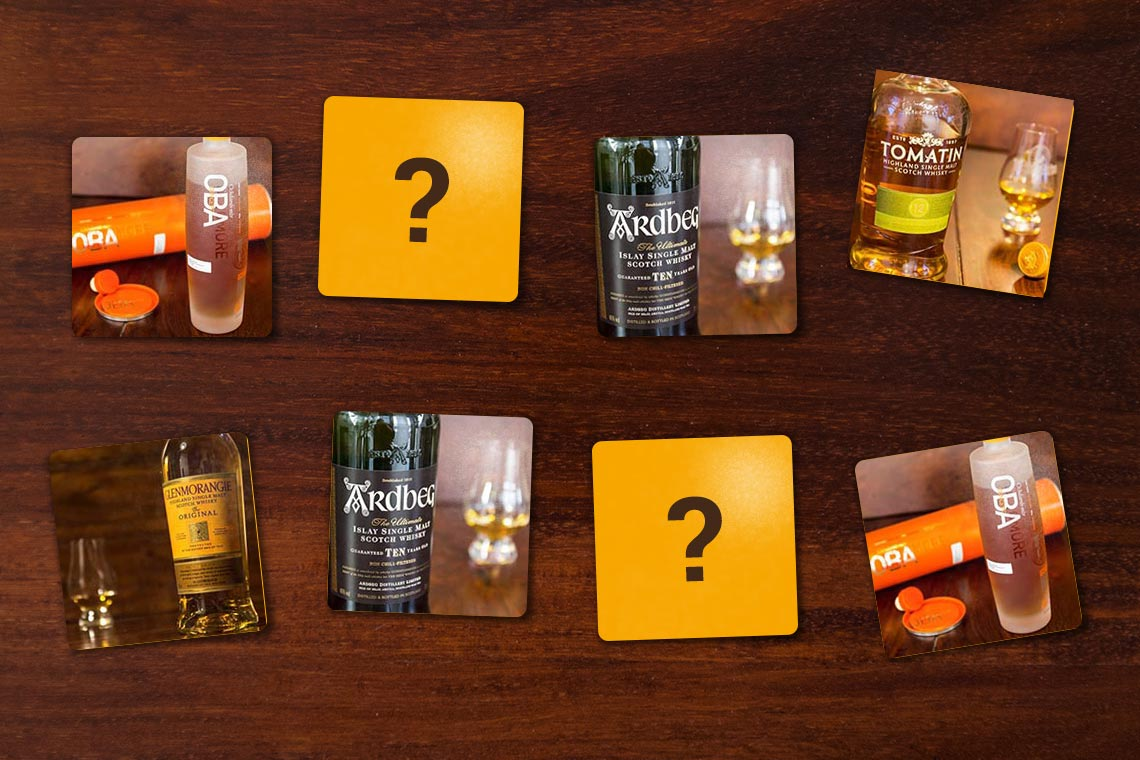 Whisky Memory - Whisky Spiel - Whisky Game
