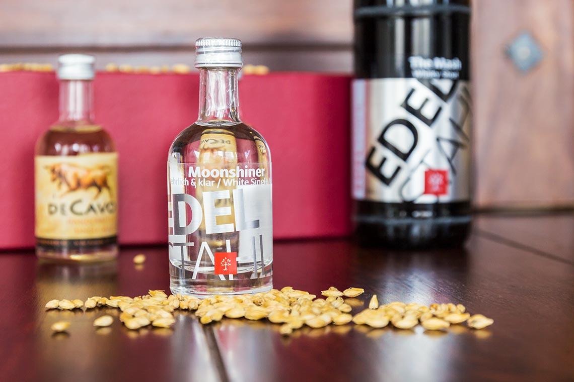 Whiskytastingset for One - Märkische Spezialitätenbrennerei - Moonshiner