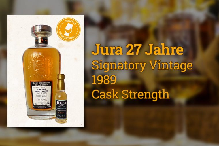 Jura 27 Signatory Vintage 1989 Single Malt Scotch Whisky