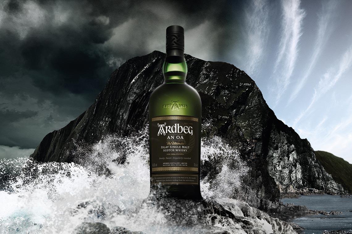 Ardbeg An Oa Single Malt Whisky Islay Küste