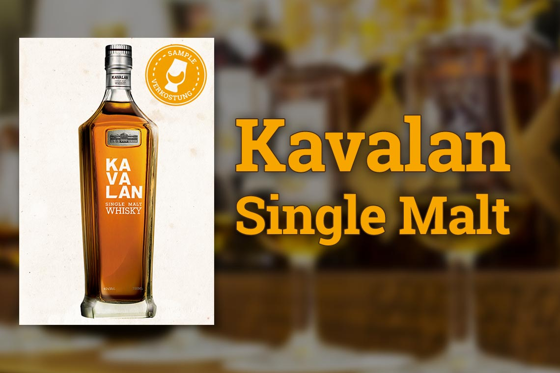 Kavalan Single Malt - Whisky aus Taiwan