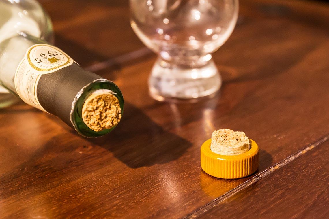 Whiskyflasche: Korken abgebrochen - Was tun?