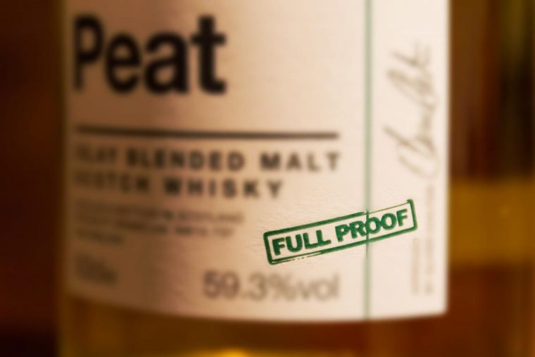 Full Proof Scotch Whisky