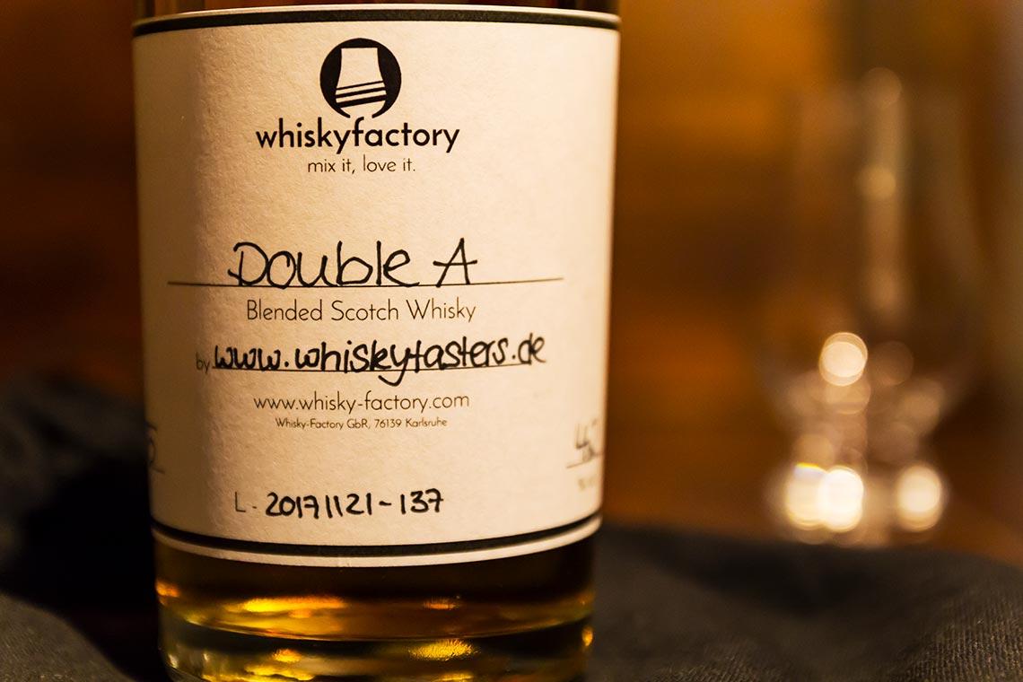 Whisky-Factory - Wir kreieren unseren eigenen schottischen Blended Malt