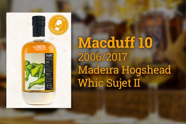 Macduff 10 Jahre Madeira Hogshead Whic Sujet 2