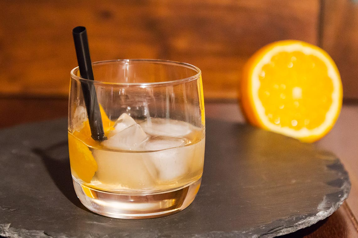 Old Fashioned - Klassischer Whisky Cocktail