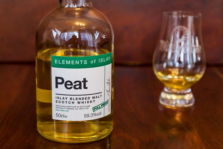Peat - Elements of Islay - Blended Malt Scotch Whisky