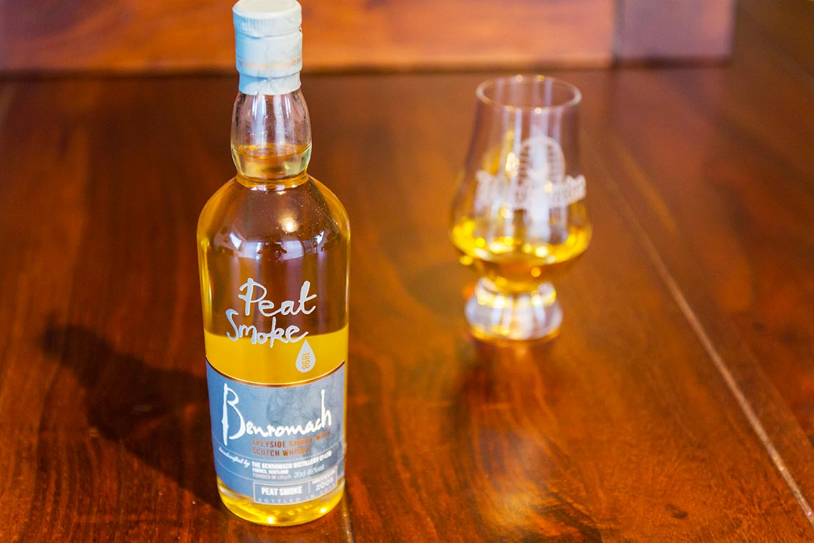 Benromach Peat Smoke Single Malt Scotch Whisky