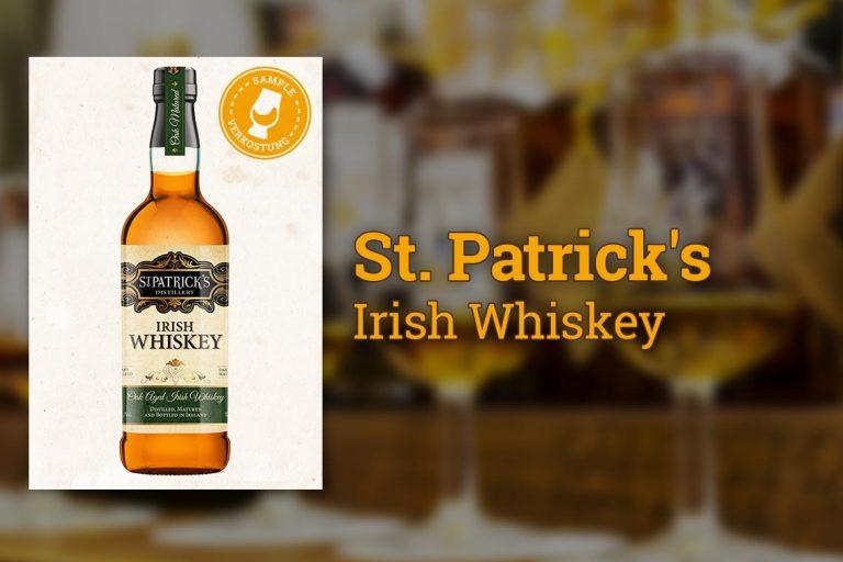 St. Patrick's Irish Whiskey - Tastingnotes