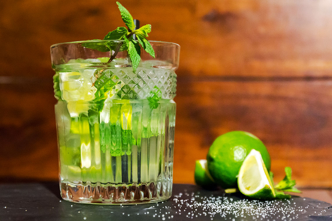 White Dog Mojito - Whisky-Cocktail
