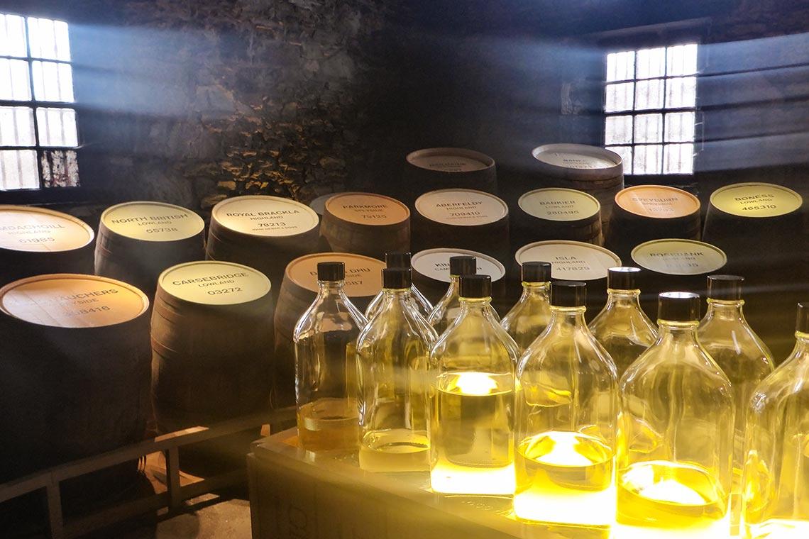 Unterschied von Single Malt Whisky und Blended Whisky